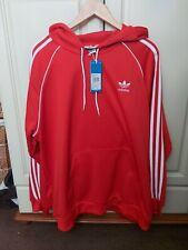 Brand New Mens Adidas Superstar Hoodie - XL - Red