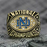 NCAA 1988 Notre Dame Fighting Irish National Football Championship Ring 8-14S