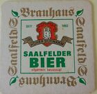 alter Bierdeckel SAALFELDER BIER, Saalfeld/Saale 🍺