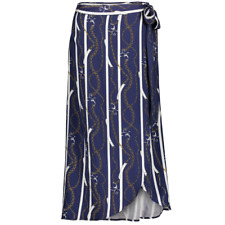 NEW YORKER AMISU Jupe longue NEUVE couleur bleu marine et blanc taille L 40 42