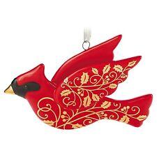 Hallmark 2016 Christmas Cardinal porcelain Ornament