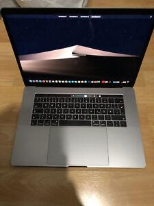 """Apple Macbook Pro 15"""" Retina Touchbar MLH32D/A 2,6GHz 16GB 256SSD TOP"""