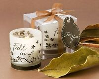 48 Fall In Love Autumn Tealight Candle Holders Fall Wedding Bridal Shower Favors