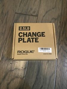 ROGUE CHANGE PLATES 2.5 lb Pair - BRAND NEW IN BOX - 5 lb total