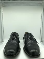 Cole Haan Black Patent Leather Lace Up Dress Shoes Mens Size 9
