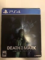 Death Mark Limited Edition - Sony PlayStation 4 PS4 UNUSED! FREE SHIPPING!