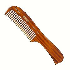 UNISEX 199MM LARGE HANDLED RAKE COMB KENT BRUSHES HANDMADE CRAFTED  HAIR & BEARD