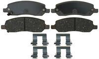 Disc Brake Pad Set-Ceramic Disc Brake Pad Rear ACDelco Advantage 14D1172CH