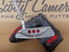 "Titleist Scotty Cameron Studio Select Laguna 1.5 34.5"" Milled Putter & Headcover"