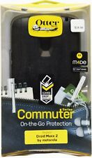 New Authentic Otterbox Commuter Series Case for Motorola Droid Maxx 2 - Black