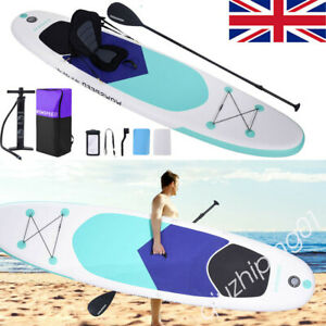11ft Surfboard Set Inflatable Paddle Board Stand Up Paddleboard& Accessories