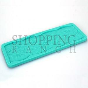 Cake Lace Pattern Silicone Mould Wedding Vintage Themed Design Mat Mold