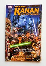 Star Wars Kanan The Last Padawan Vol. 1 Rebels Marvel Graphic Novel Comic Book