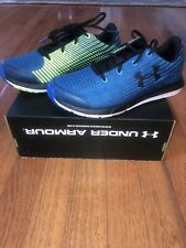 NEW BOYS UNDER ARMOUR X LEVEL SPLITSPEED Shows Size  4.5Y