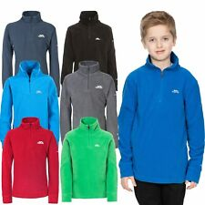 Trespass Masonville Boys Half Zip Micro Fleece Warm Winter Kids Long Sleeve Top