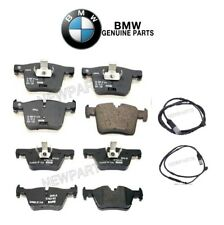 For BMW F22 F30 F32 F33 Set of Front & Rear Disc Brake Pads & Sensors Genuine