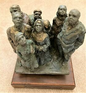 "Helen Blair Crosbie ""Hospital Elevator"" bronze statue - Limited Edition 7/10"