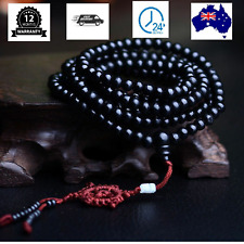 Black Bracelet Healing Lava Stone natural Unisex Natural Lava  and Agate Stone