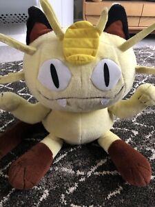Pokemon Meowth 1999 Jumbo Plush 43cm / 17inches
