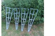 """Four Garden Trellises approx 4ft x 1ft (46"""" x 15"""") Recycled wood and packaging."""