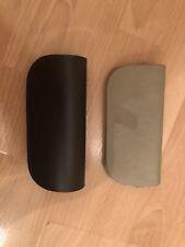 Giorgio Armani Brown And Stone Leather Glasses Cases x 2