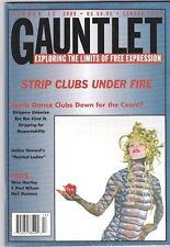 GAUNTLET MAGAZINE 17 1999 STRIP CLUBS UNDER FIRE NINA HARTLEY NEIL GAIMAN HARLEY