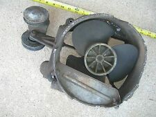 HONDA 600 EARLY SEDAN FAN HOUSING w/MOUNTS PULLEYS N600 Z600 FAN NEEDS BEARINGS-
