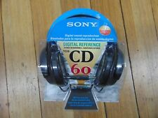 Sony MDR-CD60 Digital Reference Stereo Headphones, New in Sealed Package