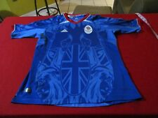 TEAM GB GREAT BRITAIN 2012 OLYMPICS ADIDAS JERSEY SIZE YOUTH M SOCCER