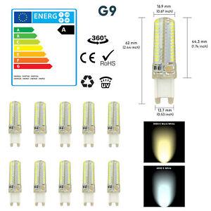1 5 10 X G9 3W 5W 7W LED Capsule Bulb Replace Light Lamps AC220-240V
