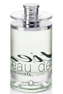 Eau De Cartier Concentree EDT Eau De Toilette Spray 3.3 oz /100 ml (New tester)