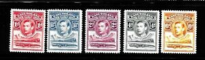 HICK GIRL-OLD MINT BASOTOLAND STAMP  KING GEORGE VI.   ISSUE 1938    X1491