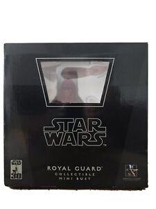 Gentle Giant Royal Guard Bust BNIB 30th Anniversary Edition