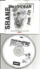 The Pogues SHANE MACGOWAN My Way w/ 2 UNRELEASED TRX CD single USA Seller 1996