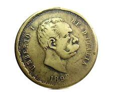 Savoia-UMBERTO I (25° Riscatto di ROMA) Medaglia