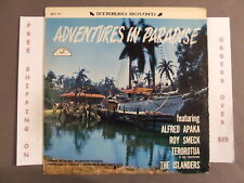 ADVENTURES IN PARADISE ORIGINAL SOUNDTRACK LP ALFRED APAKA ROY SMECK ABCS 329