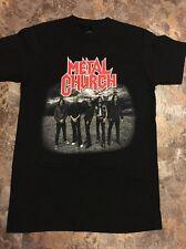 Metal Church 2016 Tour Shirt Small Mint Slayer Metallica Anthrax Prong