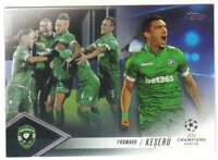 2017 2016-17 Topps UEFA Champions League Showcase Pedigree CP-CK Claudio Keseru