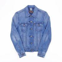 LEVI'S Blue Denim Jacket Womens Size XS