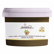 Pasta di Pistacchio Sicilia Puro di Bronte Dop per Gelato e Dolci al Pistacchio