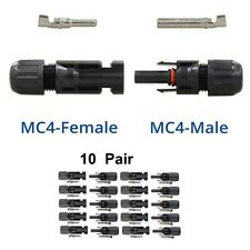 10Pair Female + Male MC4 30A Solar Panel Connector For Better Waterproof Adapter