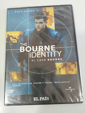 JASON BOURNE THE CASE BOURNE IDENTITY DVD SLIM MATT DAMON SPANISH ENGLISH NEW