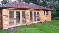 Larch Waney Edge Timber cladding - Fencing - Barns - Sheds