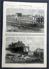 1865 June, July ILN x 4 Pages, America Civil War - Surrender of the Confederacy