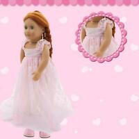 Fashion Dress Wedding Party Skirt Daily Clothes Doll Accessories For 18 inches