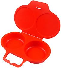 Good2heat Microwave 2 Egg Poachers Red