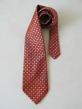 Ted Baker London Men's Classic Checkered 100% Silk Men's Neck Tie VGC
