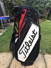 2019 Titleist Golf Staff Stand Bag / 4-Way / Rainhood / Excellent Condition