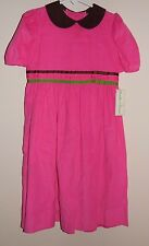 "Girls Boutique ""Peaches 'n Cream"" Pink Corduroy Dress Size 5 NWT"