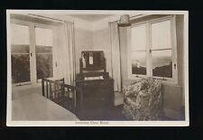 Cornwall LAMORNA Cove Hotel Interior c1920/30s? RP PPC by Chapman